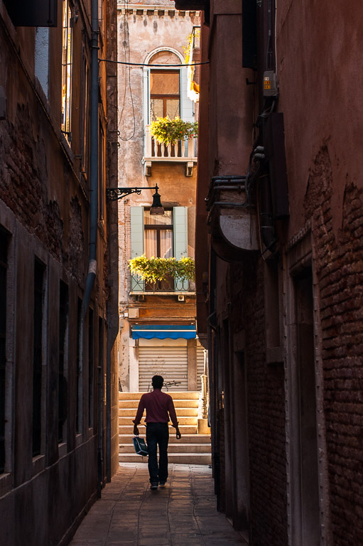 Sightseeing in Venice
