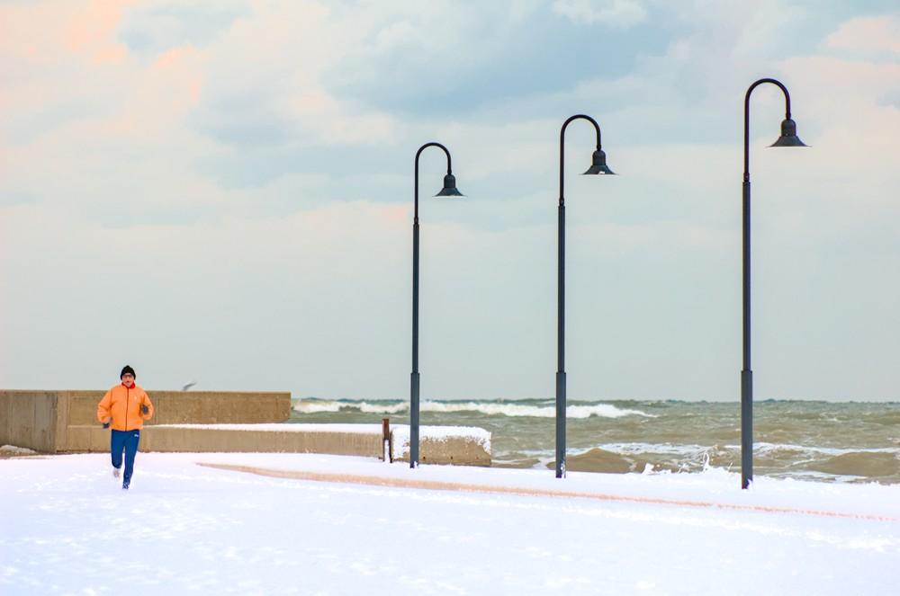 Senigallia under the snow