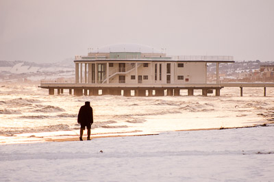Senigallia under the snow