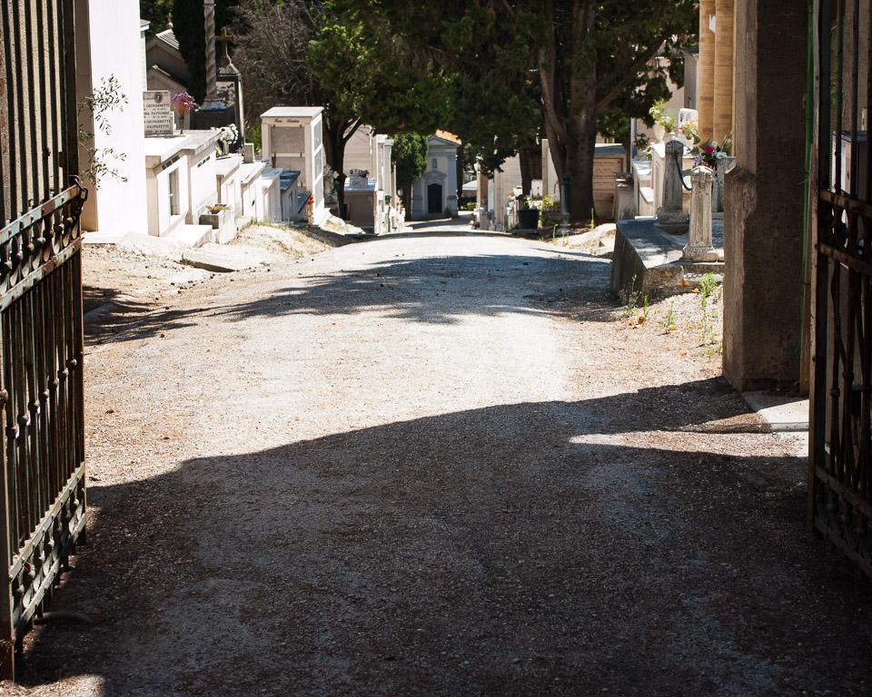 Senigallia Cemetery Entrance