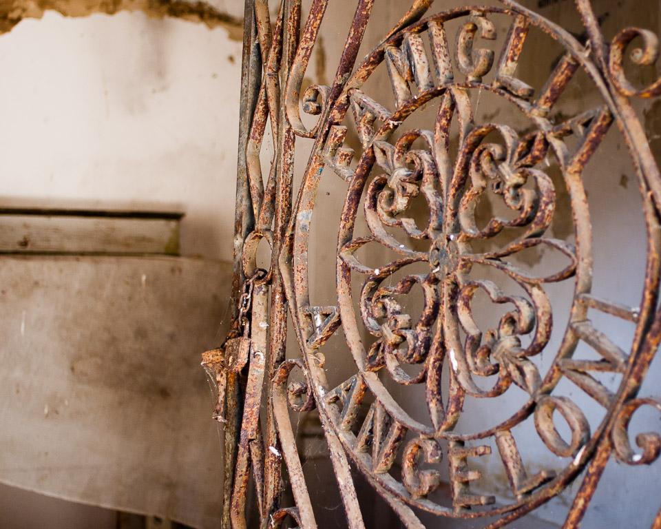 The Angeloni Family Mausoleum Gate