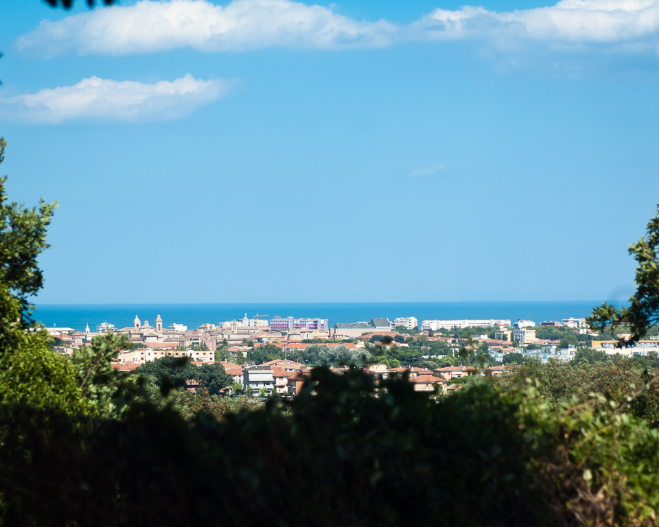 The Town of Senigallia and the Seaside