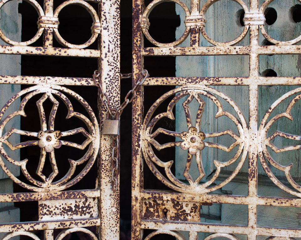 The Clari Family Mausoleum Gate