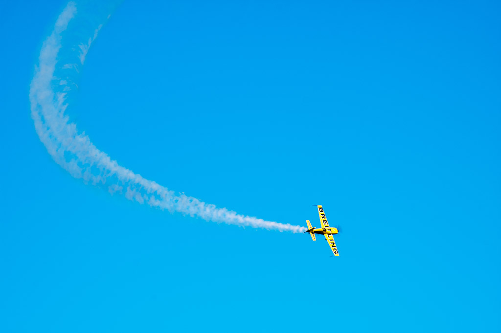 Aerobatics in Senigallia