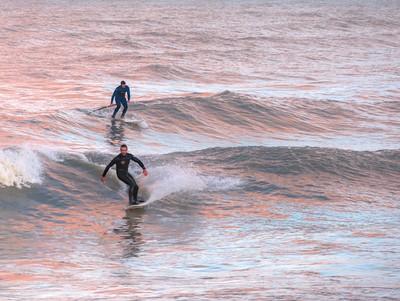 Surfing in Senigallia