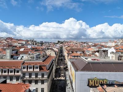 Rua Augusta, Lisbon, Portugal